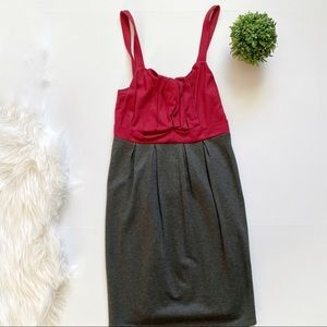 Ella Moss Red & Gray Dress